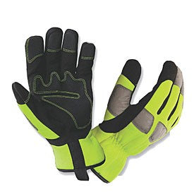 Gloves For Professionals GFP Hi Vis Worker Gloves - 490
