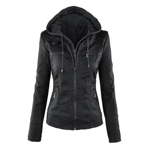 Jada Fox Ladies Fitted Leather Jacket