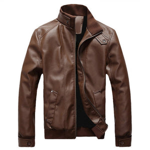 County Hills Mens Leather Jacket