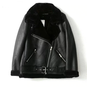 Russian Winters Ladies Leather Jacket