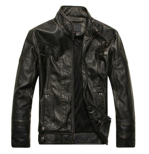 Trail Mix Mens Leather Jacket