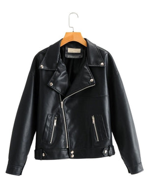 Stacie's Mom Ladies Leather Jacket