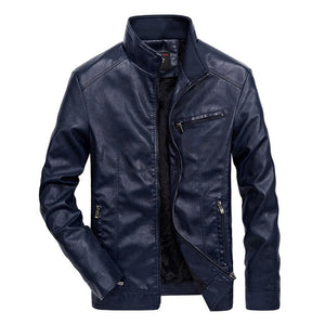 Silk Road Mens Leather Jacket
