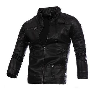 Atachi Luxe Mens Leather Jacket