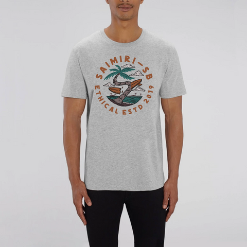 T-Shirt en Coton Bio Wipe Out - Unisexe