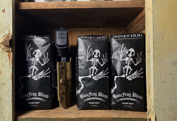 Gourmet Coffee that Honors the Fallen