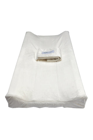 PooPoose Changing Pad Cover - Cloud White