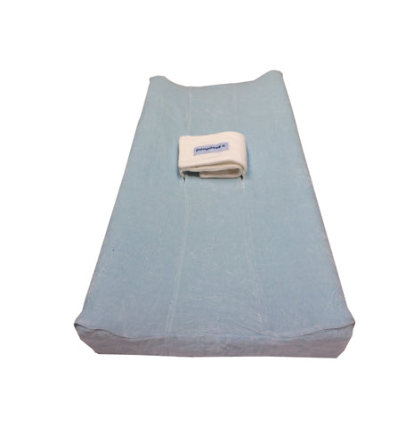 PooPoose Changing Pad Cover - Baby Blue