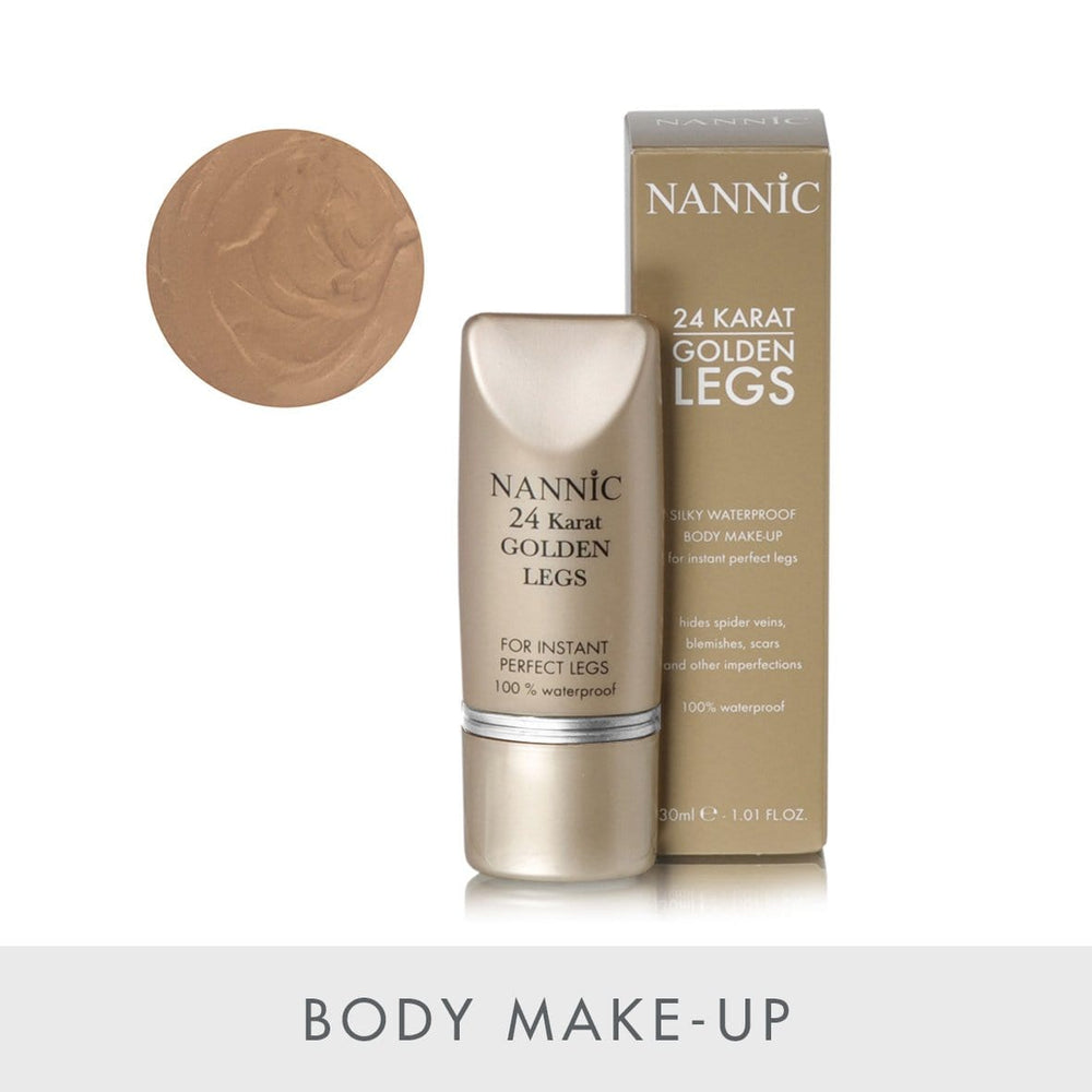Golden legs, natural beige, tube 30  ml