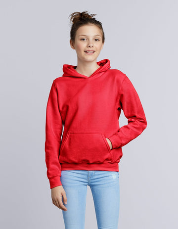 18500B Gildan Heavy Blend Youth Hooded Sweatshirt - Panther Teamwear