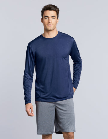 47400 Gildan Performance Adult Long Sleeve Tech T-Shirt - Panther Teamwear