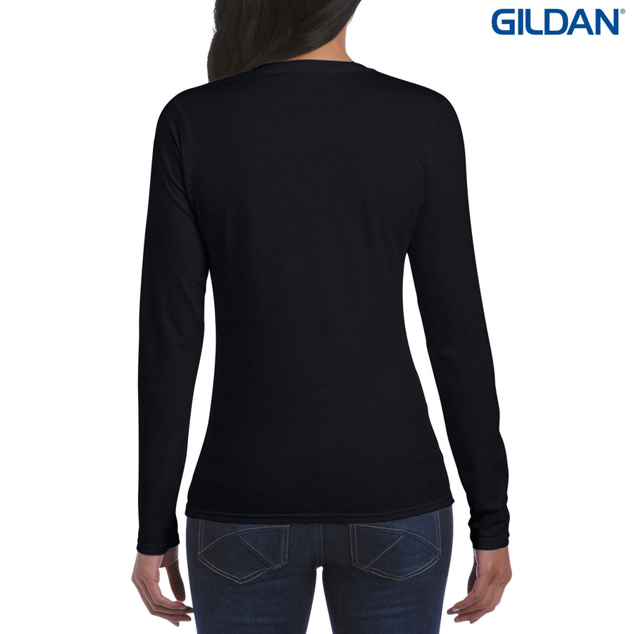 64400L Gildan Softstyle Ladies Long Sleeve T-Shirt - Panther Teamwear