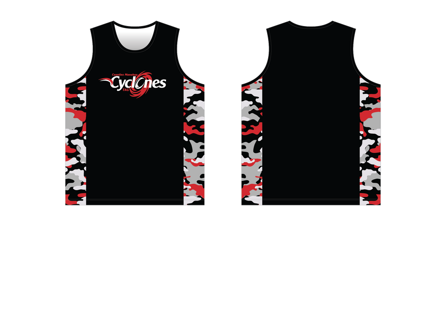Counties Tag Singlet - Panther Teamwear