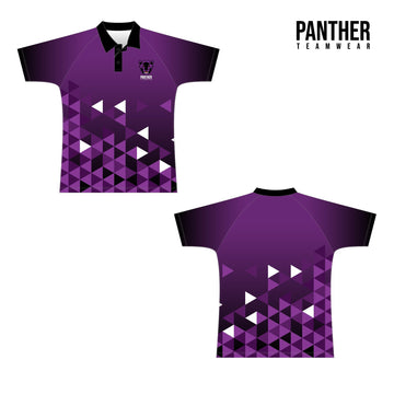 Cricket Raglan Polo - Panther Teamwear