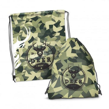 Drawstring Backpack - Full Colour - Panther Teamwear