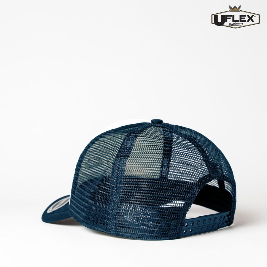 KU15502 UFlex Kids Snap Back Trucker - Panther Teamwear