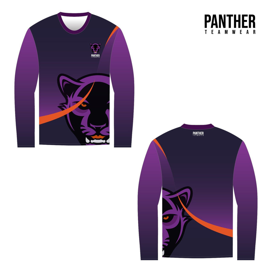 Long Sleeve T-Shirt Set Sleeve - Panther Teamwear