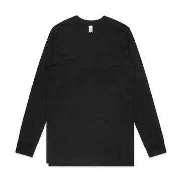 Mens Base Organic L/S Tee - 5029G - Panther Teamwear