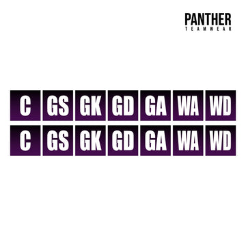 Netball Bib - set of 12 - Panther Teamwear