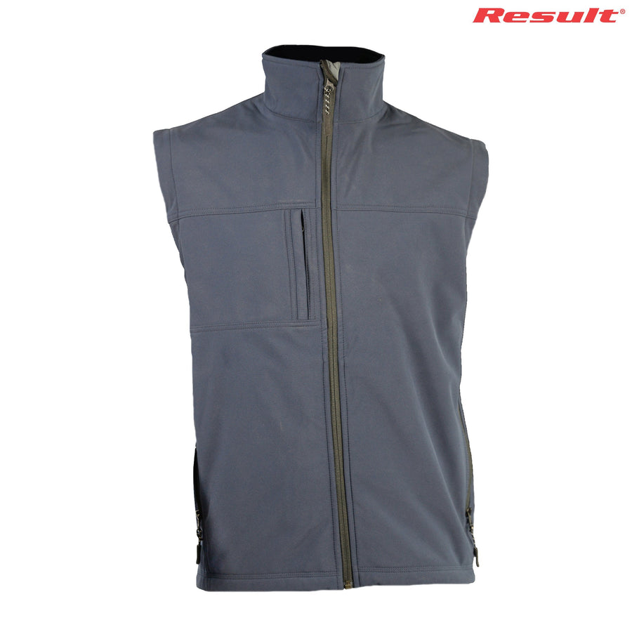 R014X Result Adults Classic Softshell Jacket - Panther Teamwear