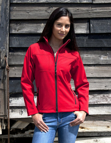 R121F Result Ladies' Classic Softshell Jacket - Panther Teamwear