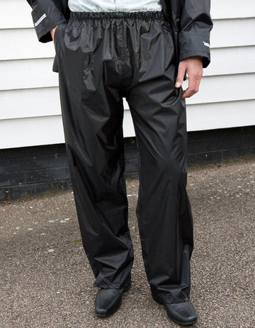 R226X Result Adult Rain Trousers - Panther Teamwear