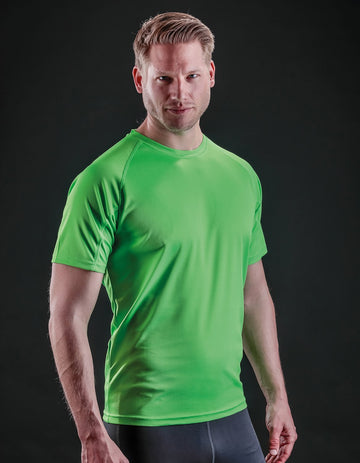 S287X Spiro - Adult Impact Performance Aircool T-Shirt - Panther Teamwear
