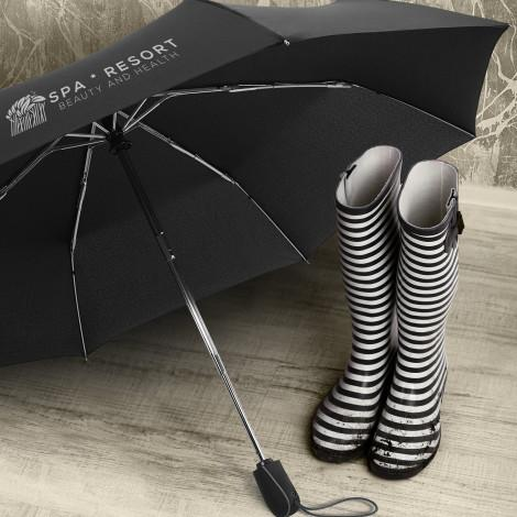 Swiss Peak Traveller Umbrella - Panther Teamwear