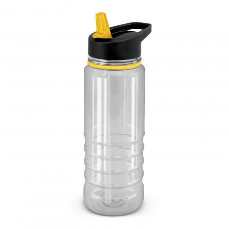 Triton Elite Bottle - Clear and Black - Panther Teamwear