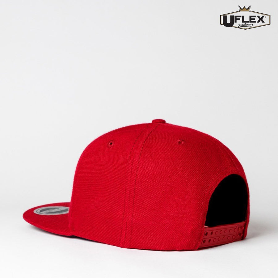 U15606 UFlex Adults Snap Back 6 - Panther Teamwear