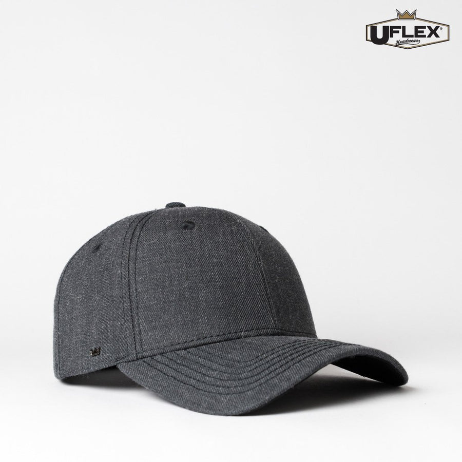 U15608 UFlex Adults Pro Style 6 Panel Snapback - Panther Teamwear