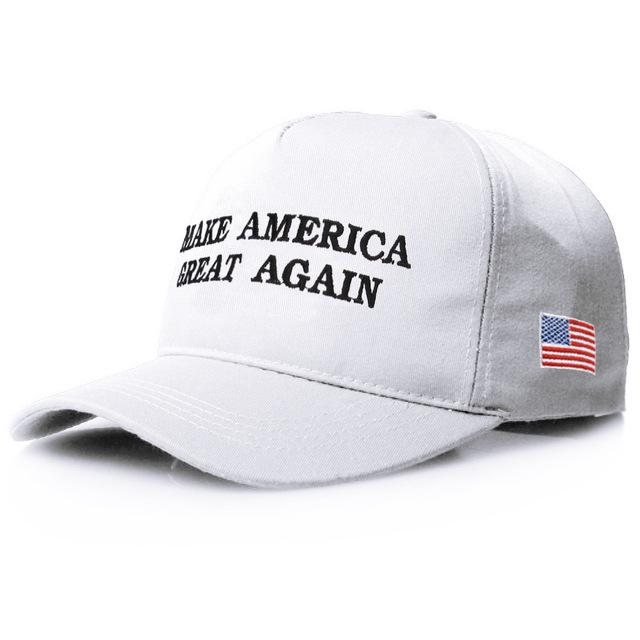 Casquette USA Make America Great Again Blanche