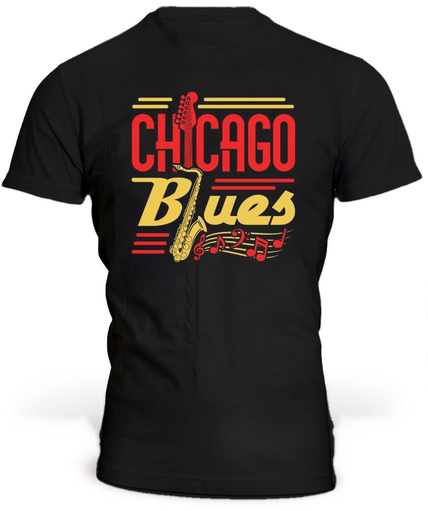 T-Shirt Chicago Blues
