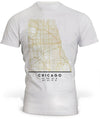 T-Shirt Chicago Map