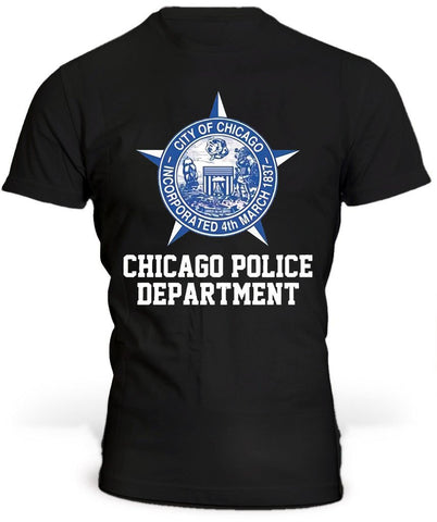 T-Shirt Chicago Police Department