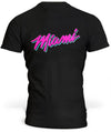 T-Shirt Miami Purple