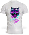T-Shirt Miami Tiger Blanc