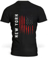 T-Shirt New York Drapeau