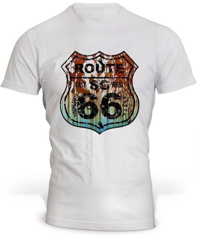 T-Shirt Route 66 Color