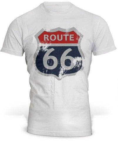 T-Shirt Route 66 Simple