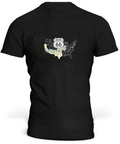T-Shirt Route 66 USA