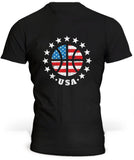 T-Shirt USA Basket