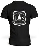 T-Shirt USA Forest Service
