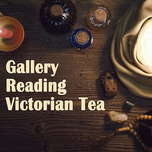 Gallery Reading Victorian Tea Sunday, October 25, 2020 at 1pm