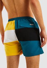 Load image into Gallery viewer, Citadel Swim Short - Teal/Yellow
