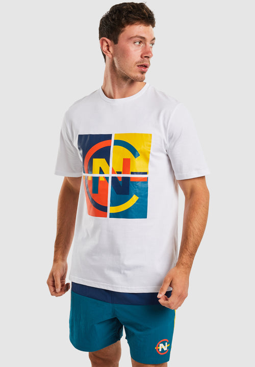 Caboose T-Shirt - White