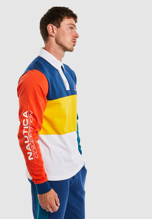 Destroyer L/S Polo - Multi