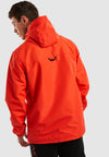 Cowl 1/4 Zip Oh Windbreaker - Red