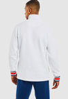 Liner ¼  Zip Track Top - White