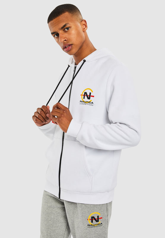 Shackle FZ Hoody - White